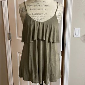 Olive camisole tank NWT